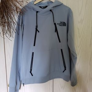 Mens pull over hooded jacket